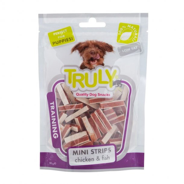 Truly Puppy Mini Strips 90g