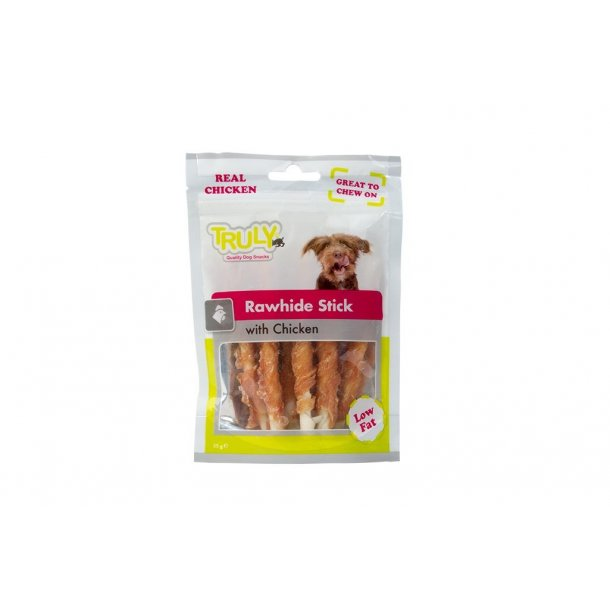 Truly Rawhide Stick with Chicken 85g