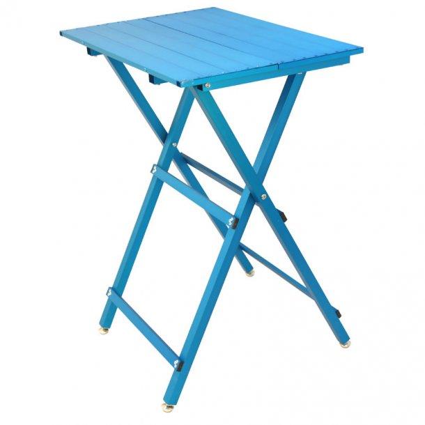 Ultra letvægts trimmebord blå - til mellem og små hunde