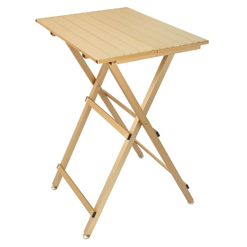 Guld trimmebord i aluminium. Meget let trimmebord